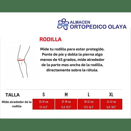Rodillera Ortopedica Elastica Con Rotula Abierta