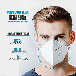 Tapabocas Mascarilla N95 Con Certificación