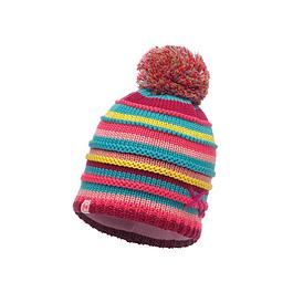 Knitted & Polar Hat Child Lasse Pink / Mardi Grape Primaloft