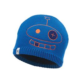 Knitted & Polar Hat Child Zogy Cape Blue Primaloft