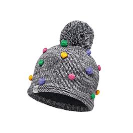 Child Knitted & Polar Hat Odell Grey Vigoré