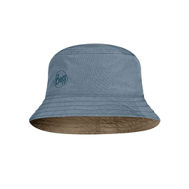 Travel Bucket Hat Zadok Blue-O