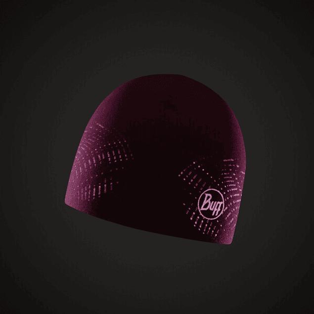 Microfiber Reversible Hat R-Solid Fuchsia