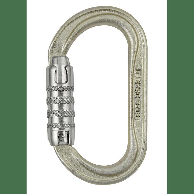Mosquetón oval de acero OXAN