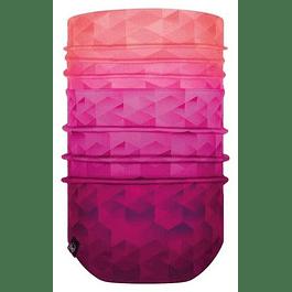 Windproof Neckwarmer Tesia Pink Fluor