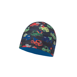 Microfiber & Polar Hat Child Wagons Multi / Harbor