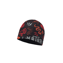 Microfiber & Polar Hat Junior Rebel Black / Black