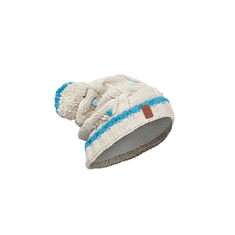 Junior Knitted & Polar Hat Dysha Mineral Primaloft