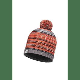 Knitted & Polar Hat Amity Grey Castlerock Primaloft