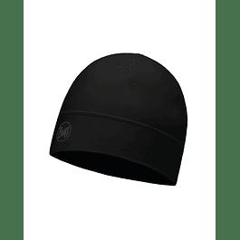 Microfiber1L Hat Solid Black