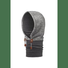 Thermal Hoodie Melange Grey
