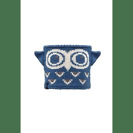Junior Neckwarmer Knitted & Polar Fleece  Nell / Navy