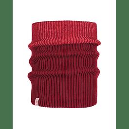 Knitted & Polar Neckwarmer Audny Wine