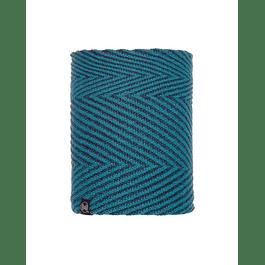 Knitted & Polar Neckwarmer Silja Deep Teal