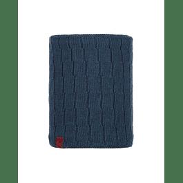 Knitted & Polar Neckwarmer Jeroen Dark Denim
