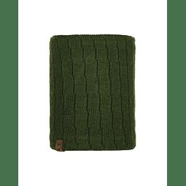 Knitted & Polar Neckwarmer Jeroen Military