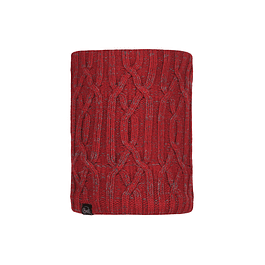 Knitted & Polar Neckwarmer Idun Red