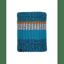 Knitted & Polar Neckwarmer Stig Teal Blue