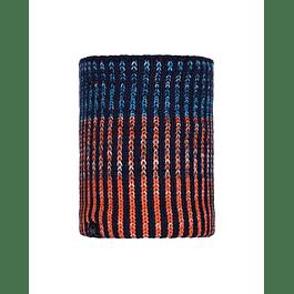 Knitted & Polar Neckwarmer Iver Medieval Blue