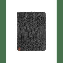 Knitted & Polar Neckwarmer Helle Graphite