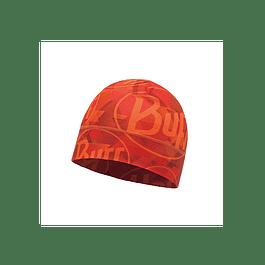 Microfiber 1L Hat Tip Logo Orange Fluor