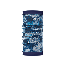 Reversible Polar Winter Garden Blue / Navy