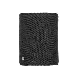 Knitted & Polar Neckwarmer Disa Black