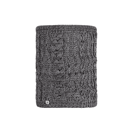 Knitted Neckwarmer Comfort Darla Grey Pewter
