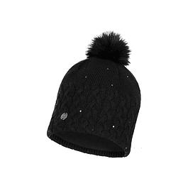 Knitted & Full Polar Hat Elie Black
