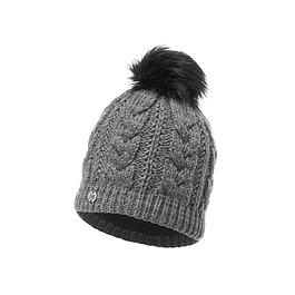 Knitted & Polar Hat Darla Grey