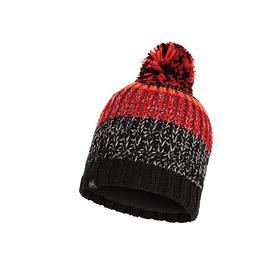Knitted & Band Polar Hat Stig Black