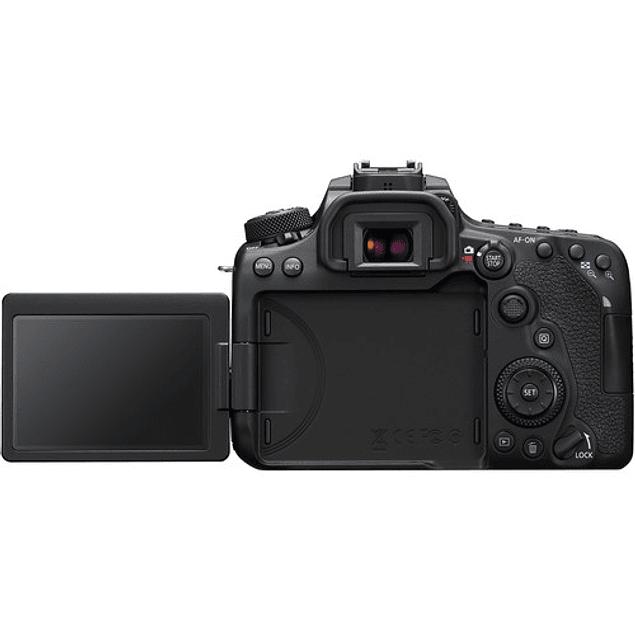 Cámara Canon EOS 90D DSLR con lente de 18-55 mm. f / 3,5-5,6 IS STM