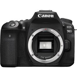Cámara Canon EOS 90D DSLR (solo cuerpo)