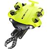ROV (DRONE) submarino QYSEA Fifish V6S con garra robótica.
