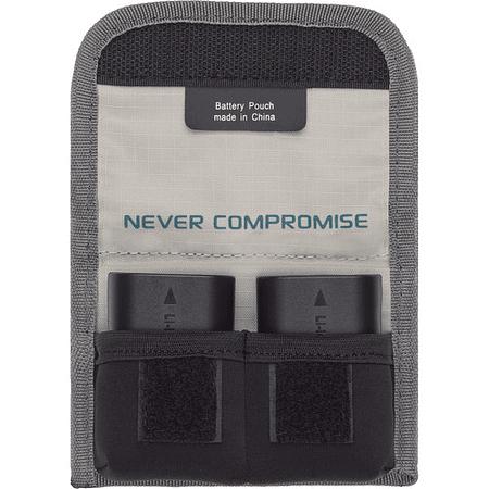Tenba Tools – Funda para 2 Baterías (Gray/636-213)9
