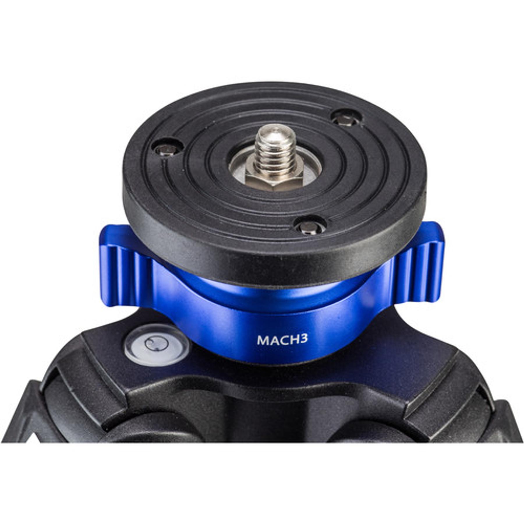 Trípode TMA47AXL twist lock Serie Mach 3 Aluminio. NºTMA47AXL