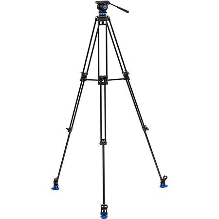 Kit de trípode y cabezal de vídeo Benro KH26P