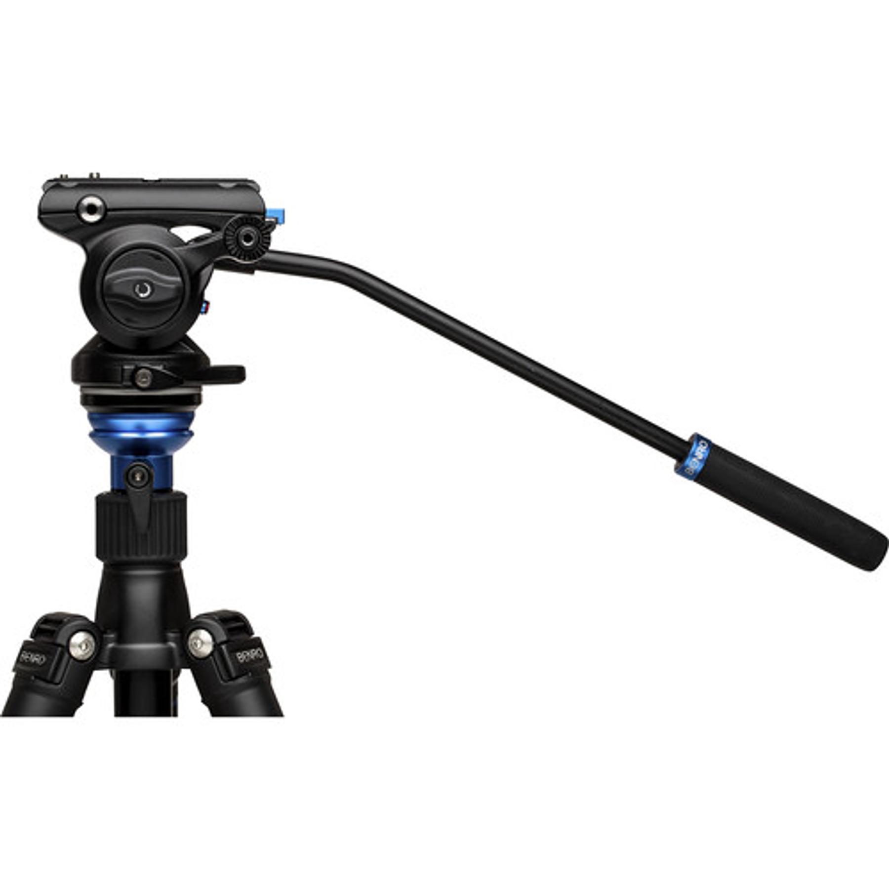 Cabezal de video fluido Benro S4Pro