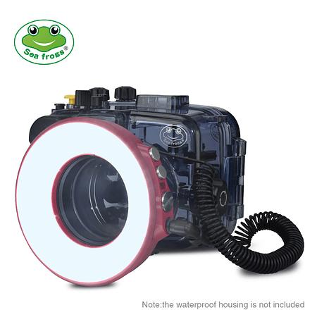 Seafrogs SL-108 Modelo 1200LM Anillo de luz de 40 m para fotografía macro