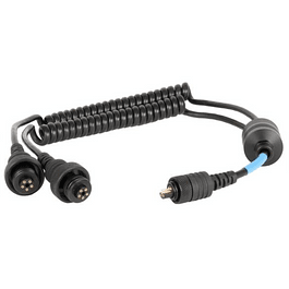 CABLE SINCRONIZADOR DOBLE HOUSING IKELITE A FLASH SEA AND SEA O INON Código #45282