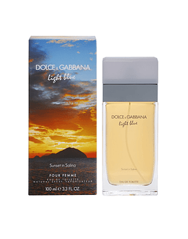 Dolce & Gabbana Light Blue Sunset in Salina EDT 100 ML (M)