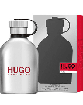 Hugo Boss Iced Men EDT 125 ML Cantimplora (H)