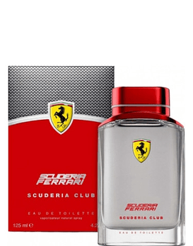 Ferrari Scuderia Club EDT 125 ML (H)