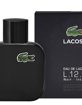 Lacoste Negro L.12.12 Noir Intense EDT 50 ML (H)