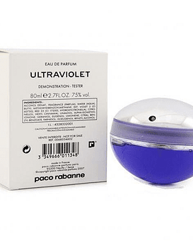 Paco Rabanne Ultraviolet EDP 80 ML Tester (M)