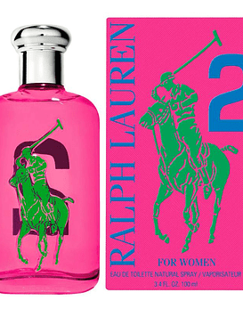 Ralph Lauren Polo Big Pony Women 2 EDT 100 ML (M)