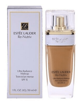 ESTEE LAUDER RE-NUTRIV ULTRA RADIANCE MAKEUP TEINT ECLAT INTENSE SPF 15  4N1 SHELL BEIGE 30ML