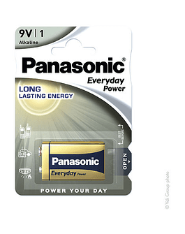 Panasonic Everyday Power 6LR61 9V 680mAh