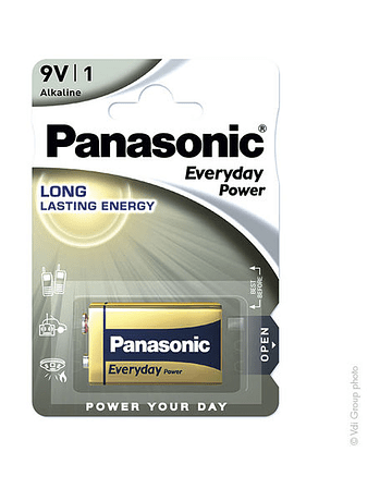 Panasonic Everyday Power 6LR61 9V 680mAh