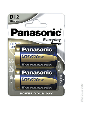 Panasonic Everyday Power LR20 - D 1.5V 19.7Ah